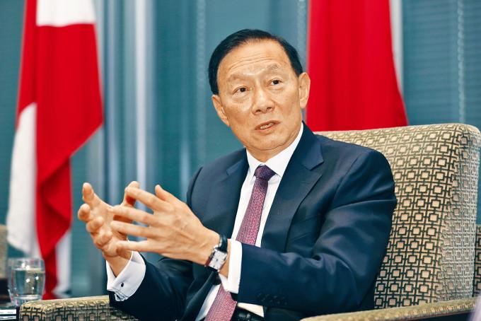 王冬勝接受新華社訪問。