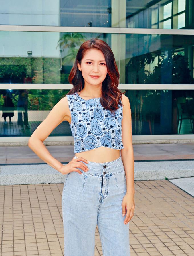 陳庭欣笑稱放閃不是她與男友的專利。