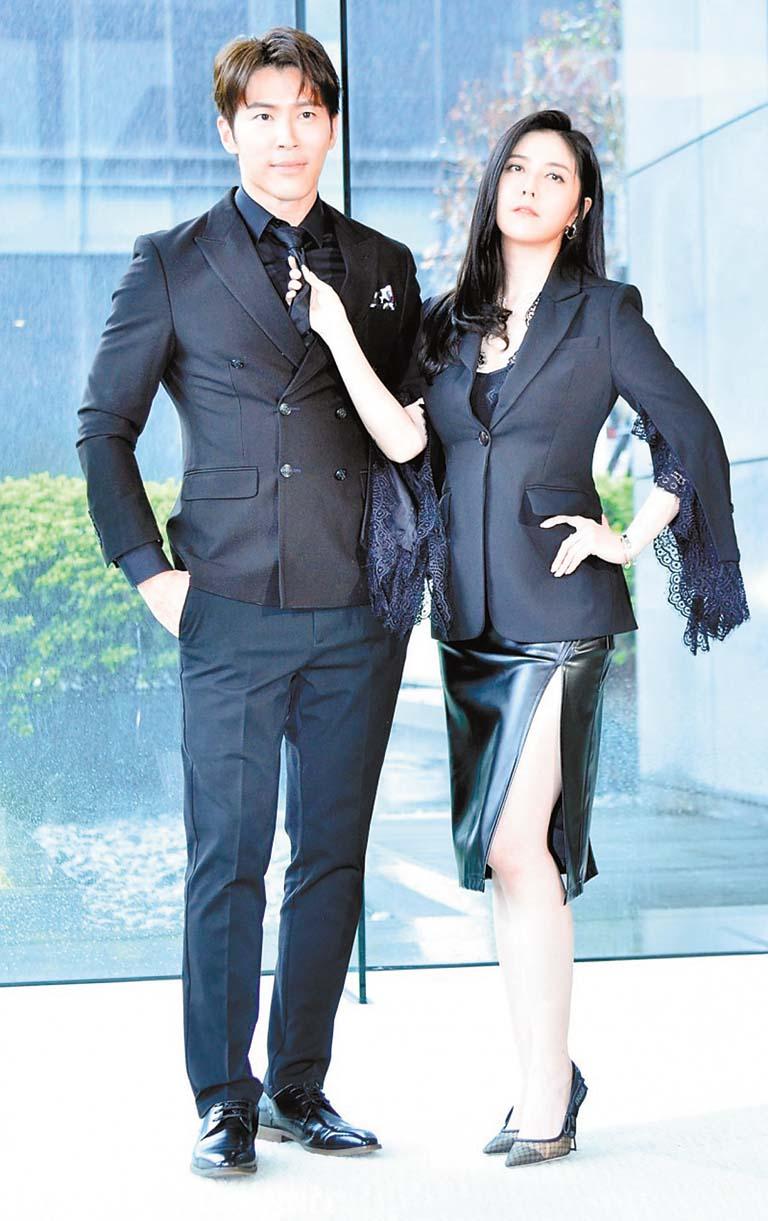 韓瑜(右)和黃少祺(左)