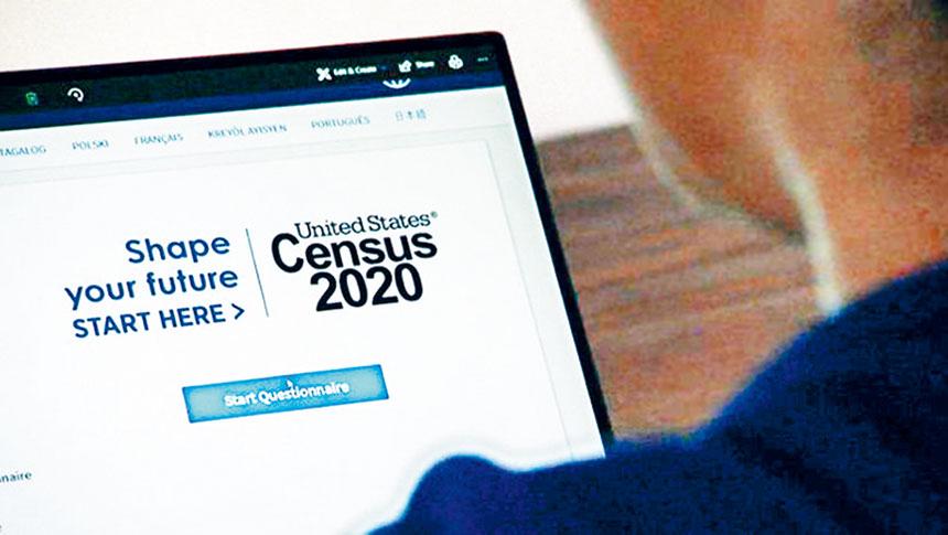 亞美聯盟指出,紐約市亞裔對2020年人口普查問卷的總體回復率低於城市平均回復率。資料圖片