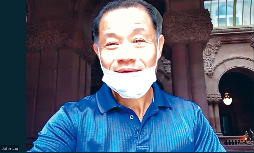 劉醇逸網上記者會宣布今年SHSAT保住了。