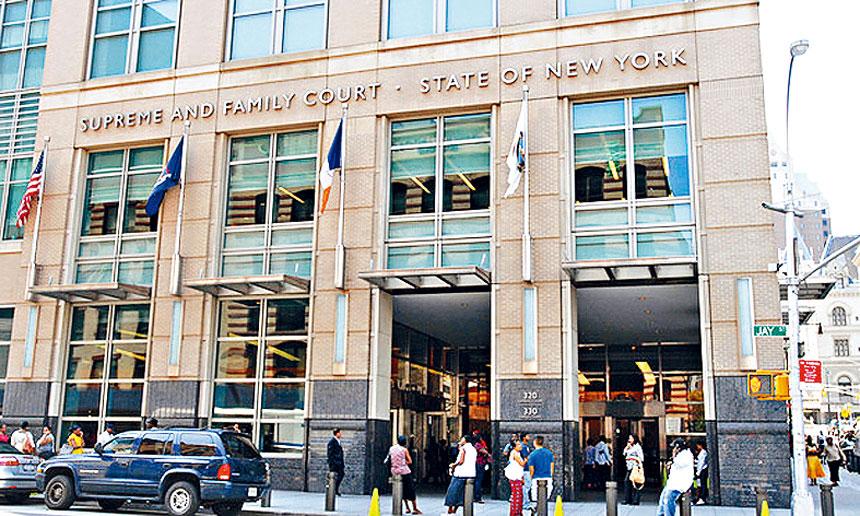 布碌崙法庭系統每天聽案百宗,圖示位於布碌崙下城的州高等法庭。