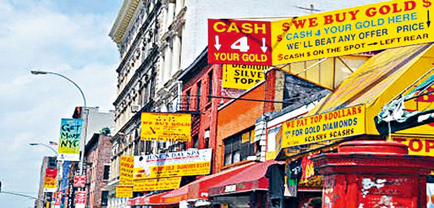 紐約市將發起對小商業標牌進行的免罰檢查。資料圖片
