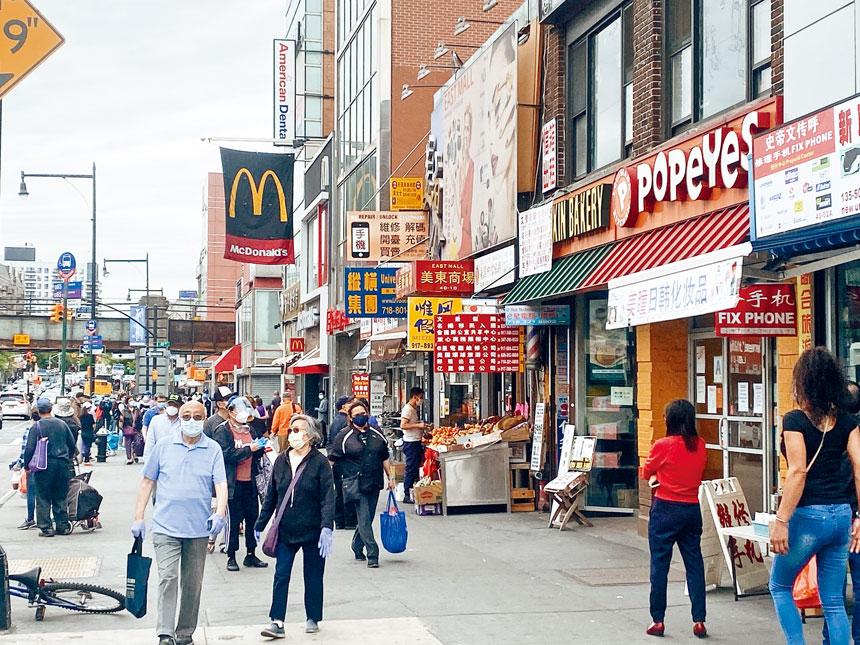 顧雅明表示,亞裔社區很大程度上被排除在紐約市的恢復工作之外。
