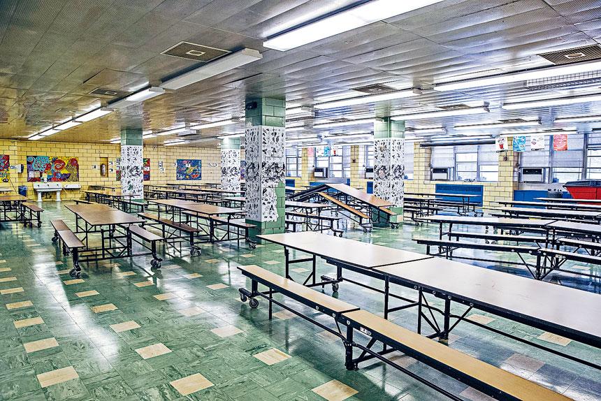 市教育局公布嚴格的學校及隔離措施。Brittainy Newman/紐約時報