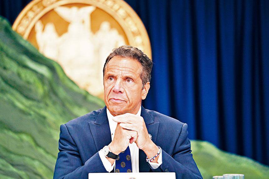 柯謨預測,紐約的新冠個案將會增加。州長辦公室Flickr圖片