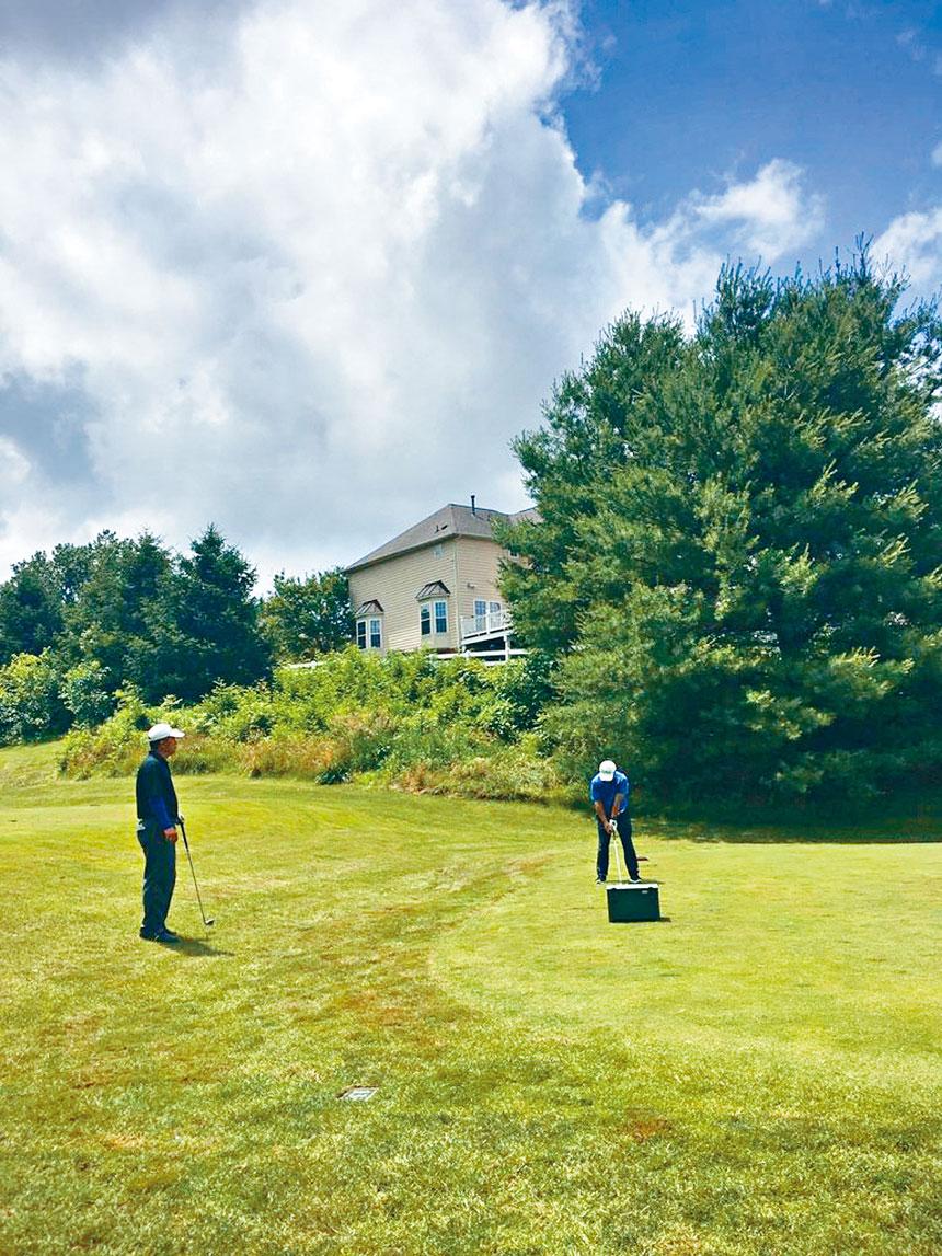 大華府華人高爾夫俱樂部舉辦2020年首場比賽。