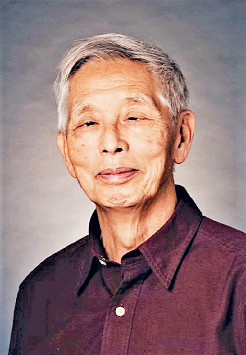 著名建築師李燦輝教授。檔案圖片