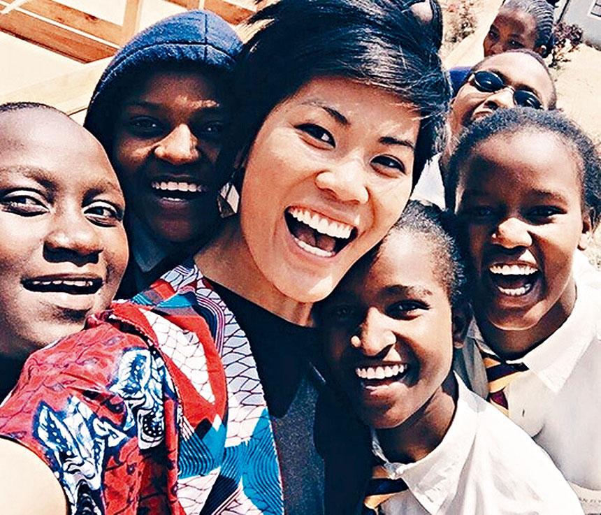 林美好為自己也為非洲女孩譜出非凡一頁。