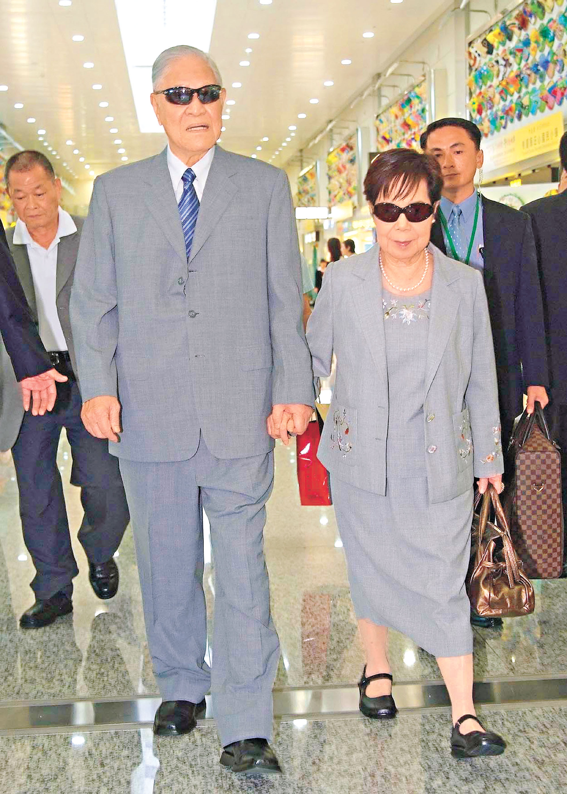 李登輝與夫人曾文惠