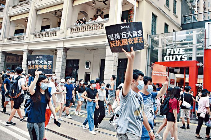 陳茂波指《香港國安法》立法後暫仍出現一些爭議風波,令本港未來經濟存在不確定性。
