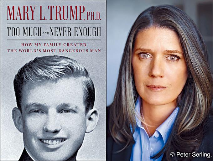 特朗普侄女瑪麗的新書下周面世。