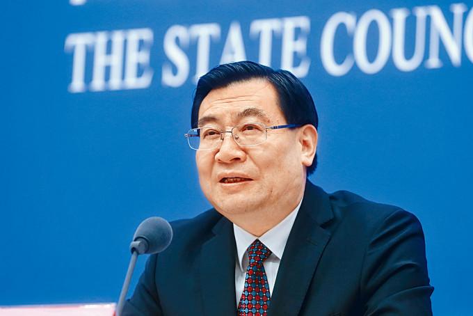 胡和平由地方「一把手」調任內閣部長仕途受關注。