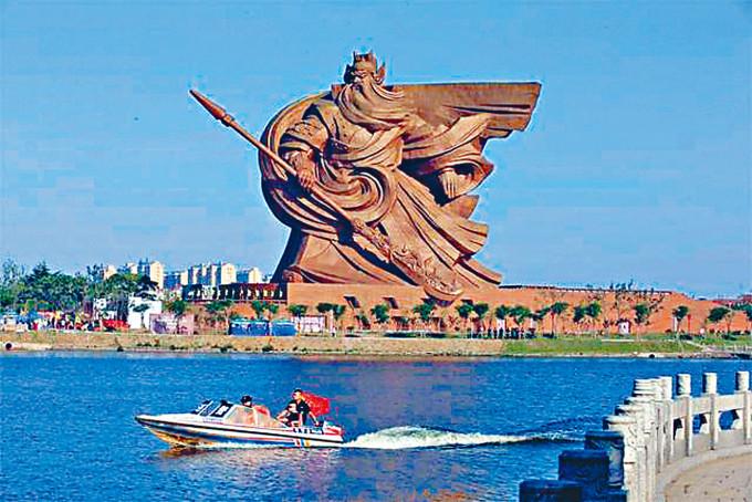 湖北關公像鎮守荊州。