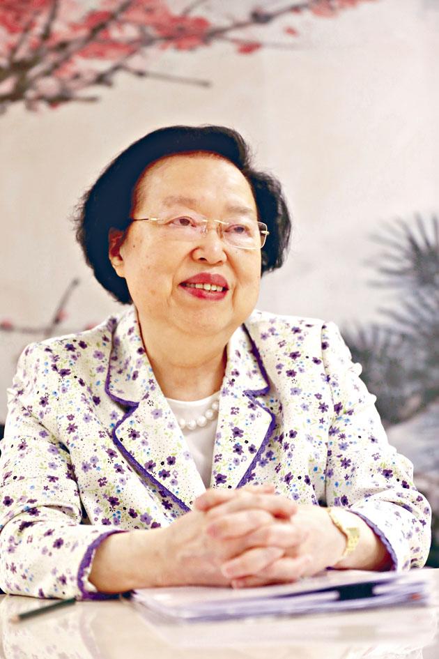 譚惠珠指中央容許大部分國安案件在港處理,是出於尊重「兩制」。