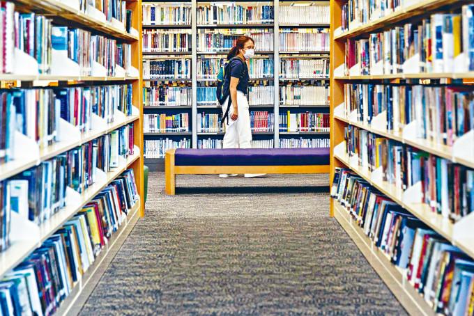 圖書館覆檢部分書籍的內容會否違反法例。