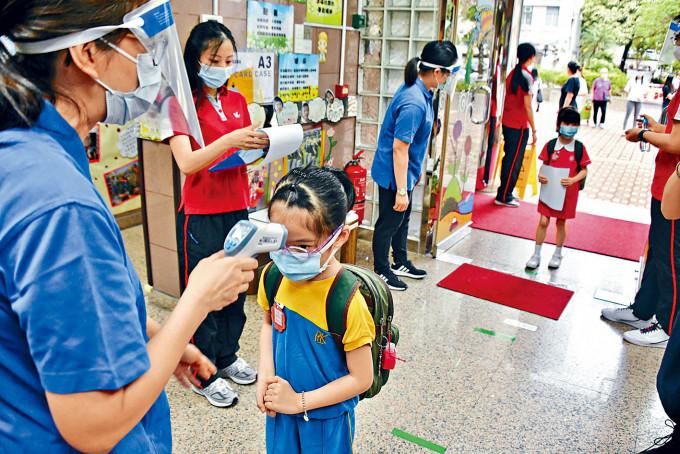 幼稚園生復課時間僅一個月,卻又要暫別校園生活。