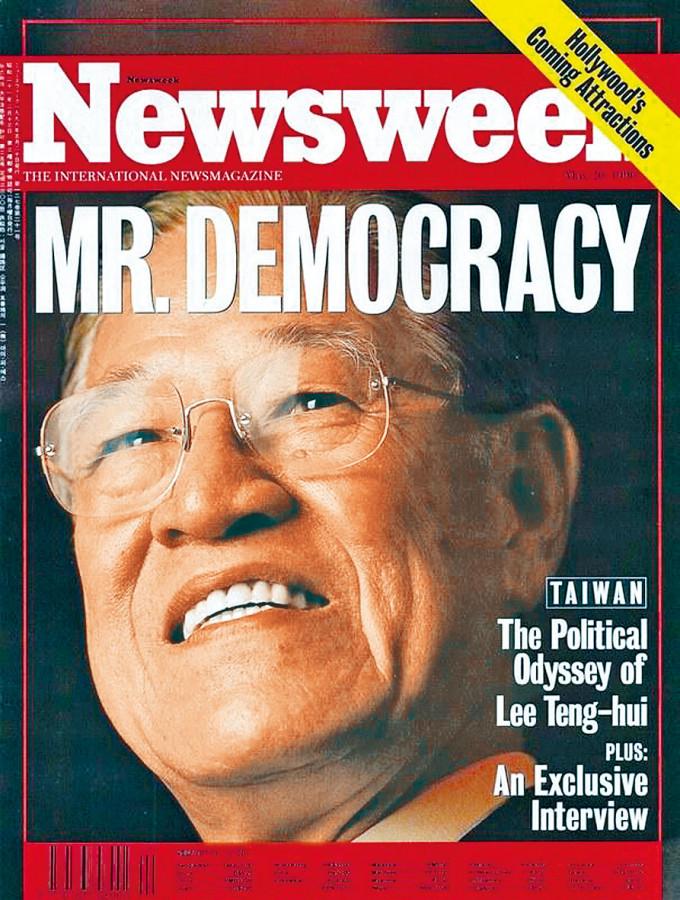 李登輝是首位直選總統,獲美《新聞周刊》形容為「民主先生」。