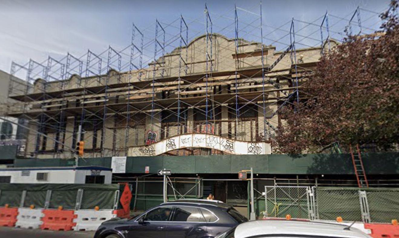 ■基斯電影院自1986年以來一直空置。 谷歌地圖明