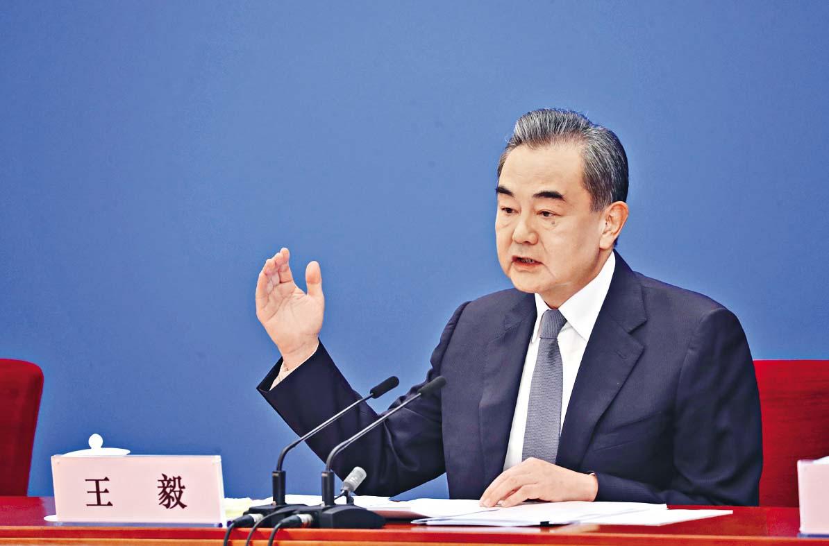 王毅:中國將以冷靜和理智來面對美國的衝動和焦躁。