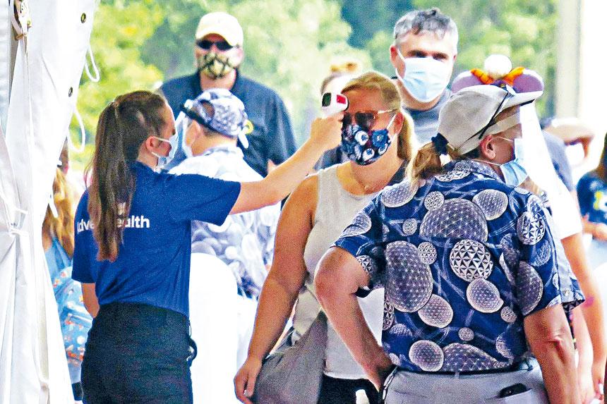 佛州繼加州之後,成為感染新冠病毒病例超過50萬的第二個州。此外,該州接受新冠病毒檢測的人數已超過382萬。     奧蘭多前哨報圖片