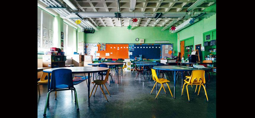 市府計劃9月重開學校,但校長工會批評決定過分倉卒。Erin Schaff/紐約時報