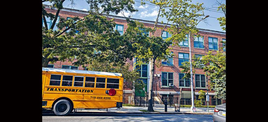紐約全州學校終獲准於秋季新學年重開。Hiroko Masuike/紐約時報