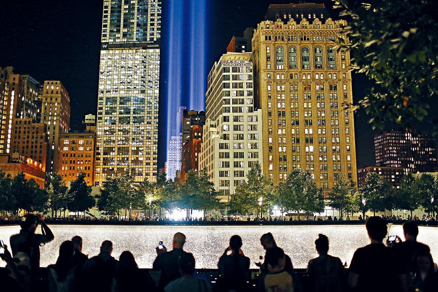 紀念之光2002年3月以來每年舉行,今年是首次停辦。Kirsten Luce/紐約時報
