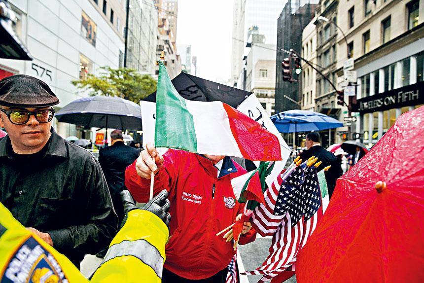 紐約市取消今年的哥倫布日遊行。 Sam Hodgson/紐約時報