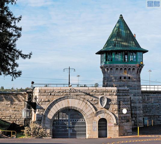 迄今累計56名囚犯確診的福爾森州立監獄。國會圖書館