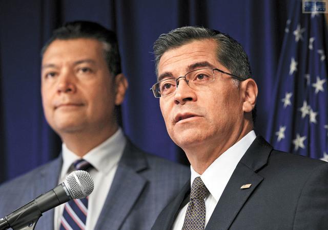 州總檢察長貝塞拉經常檢控特朗普政府。美聯社資料圖片