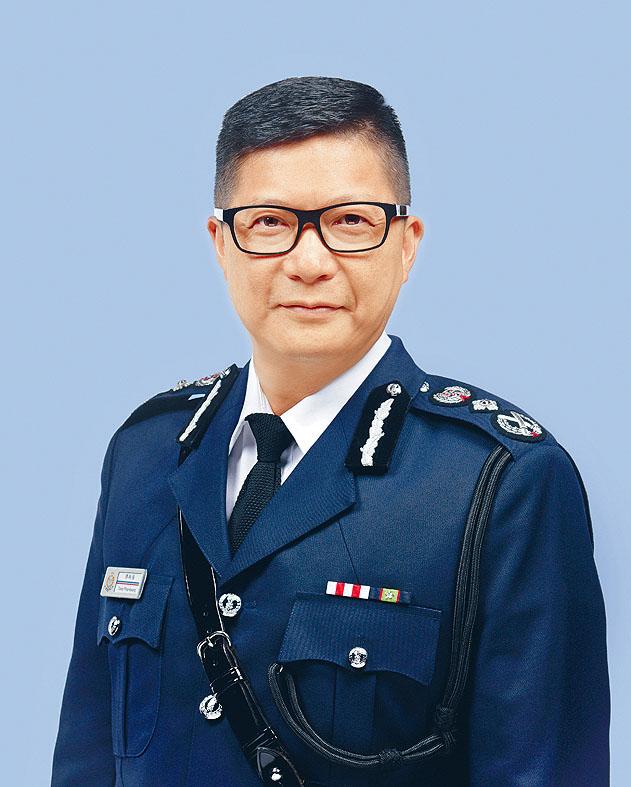 香港警務處長 鄧炳強
