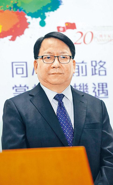 國家安全委員會秘書長、 特首辦主任 陳國基