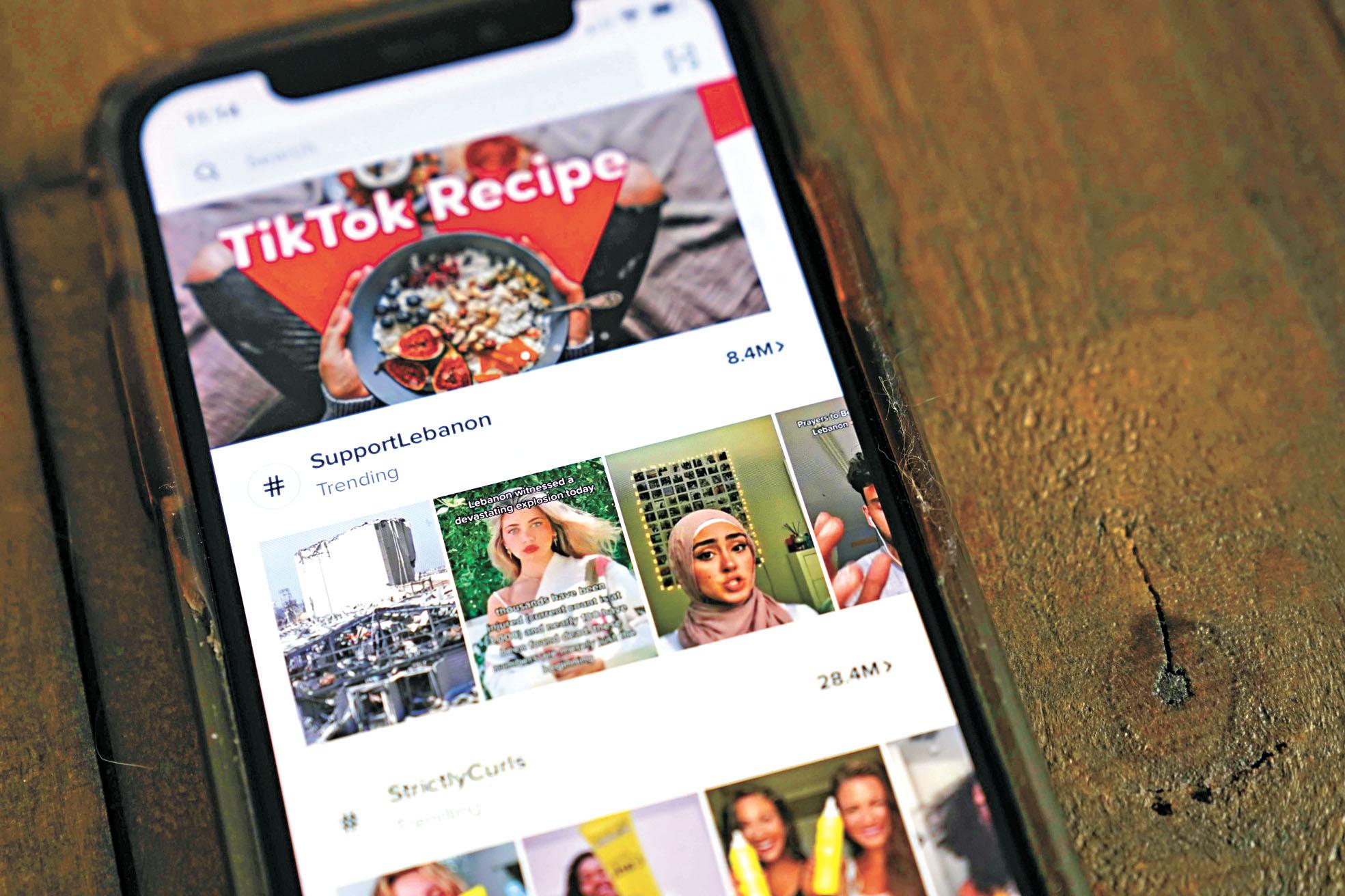 TikTok在全球下載量急升,據傳微軟正與其洽談收購之際,推特也加入競爭行列。法新社