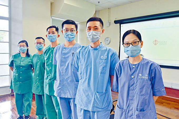 醫管局醫護團隊分享應付鯉魚門度假村及亞博館工作。