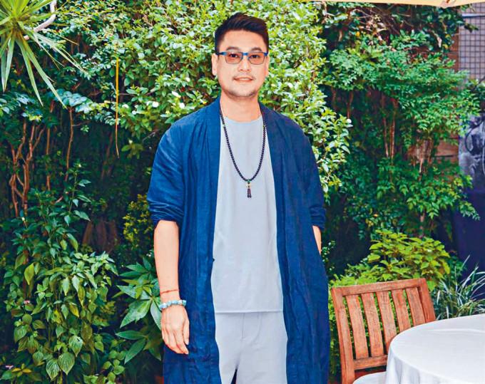 朱孝天在台灣出席活動,透露自己患有罕見基因病。