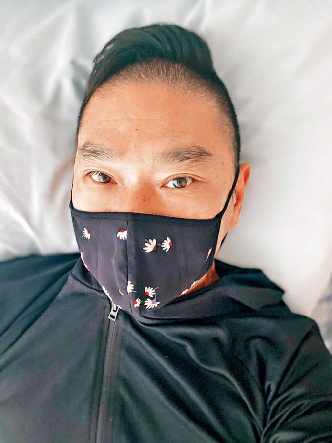 鄧達智擺脫自私病友,但就呻藥物反應厲害。