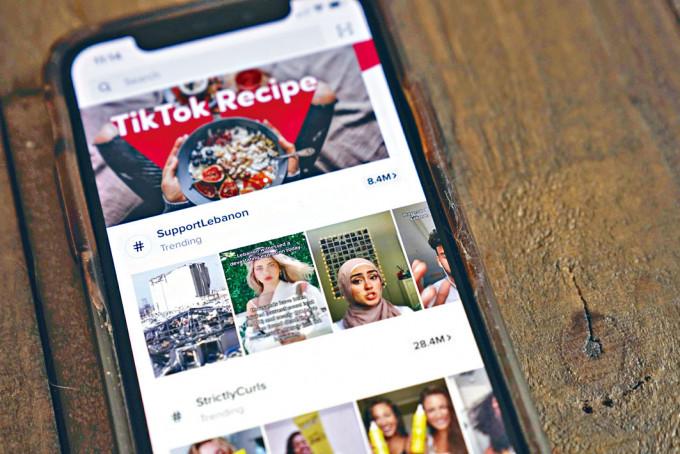TikTok在全球下載量急升。