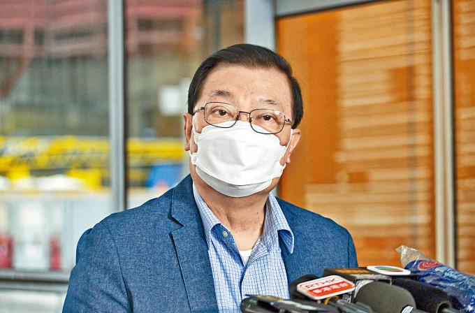 譚耀宗表示,會將社會對如何處理立法會「真空期」意見帶至人大常委會上討論。