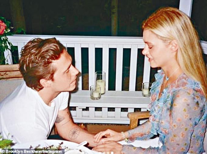 Brooklyn和妮歌娜被指會搞3場訂婚派對。