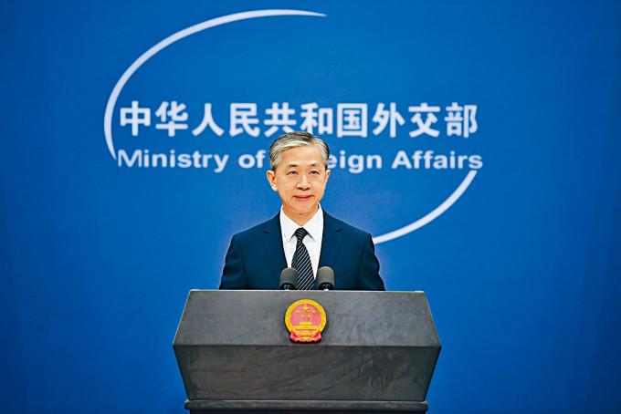汪文斌指,不排除美國駐港記者也受影響。