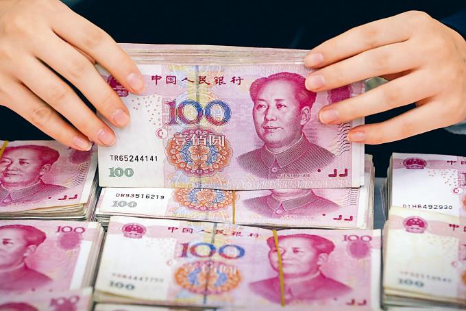 離岸人民幣流動性需求增加,帶動人民幣昨日波動上升。