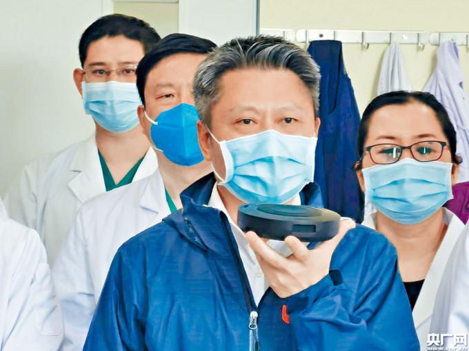 余德文曾擔任廣東支援武漢醫療隊總指揮。