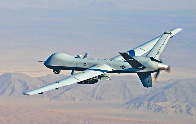 美國的MQ-9無人機具偵察和攻擊功能。