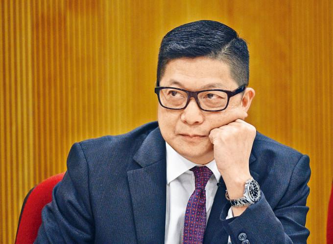 香港警務處處長鄧炳強