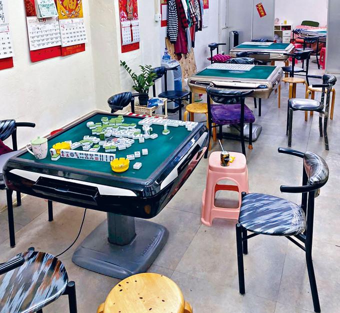 警方在過往冚賭行動中,經常檢獲麻將牌等賭具。
