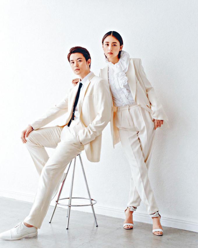 山本美月與瀨戶康史昨日公布婚訊,二人公開了型格結婚照。