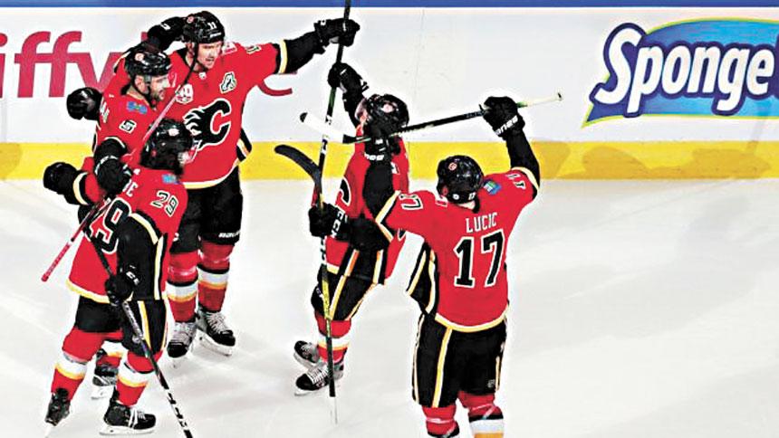比勝利更可喜的是,NHL熬過了漫長的暫停等待。網上圖片