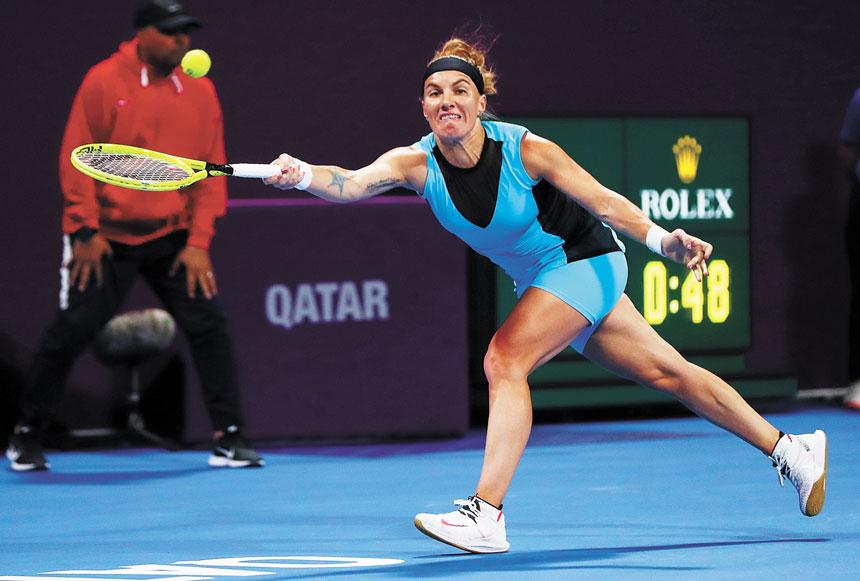 庫茲涅佐娃將不會參加今年的美網公開賽。路透社