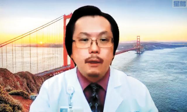華埠公共衛生局執行局長白幹榮醫生。截屏圖片